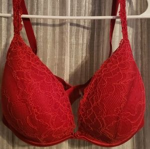 Red Lace Cacique Bra